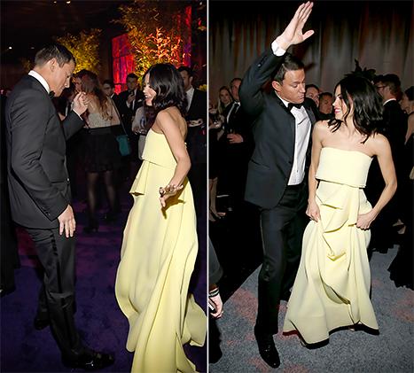 Channing Tatum and Jenna Dewan Tatum Tear Up the Dance Floor