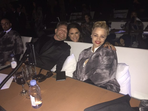 Ryan his fiancé Jessica and Jennifer Howell in Bed