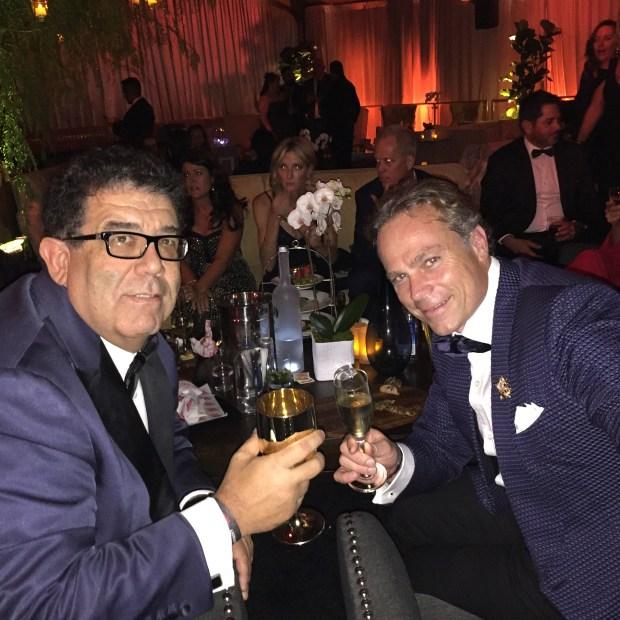 Victorino Noval and Vince Jolivette