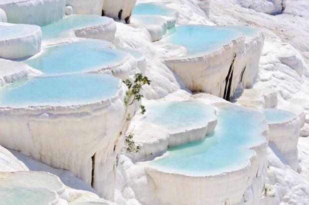 cascading pools of Pamukkale