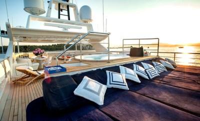 St Lucia-mega yacht