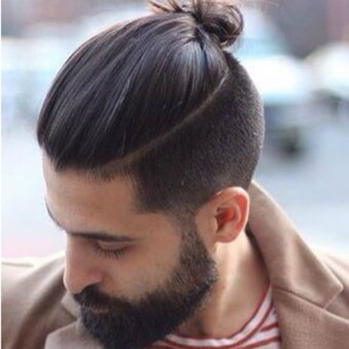 Picture_4_Man-Bun-and-Sides-Connected-with-Beard
