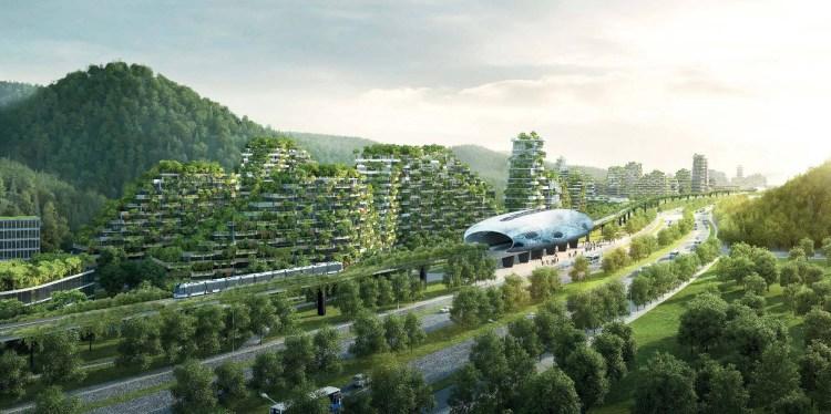 Проект зеленого города архитектора Стефано Боери