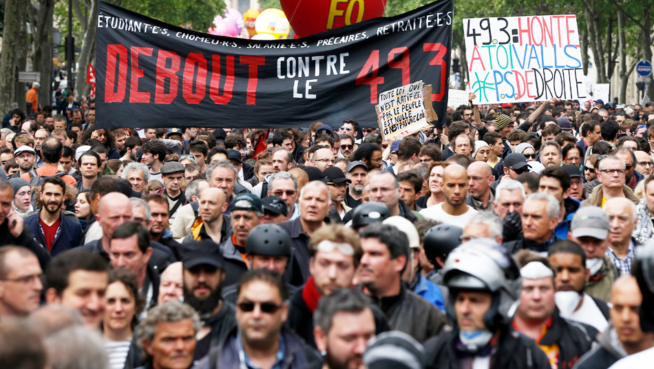 June 2017 French protest