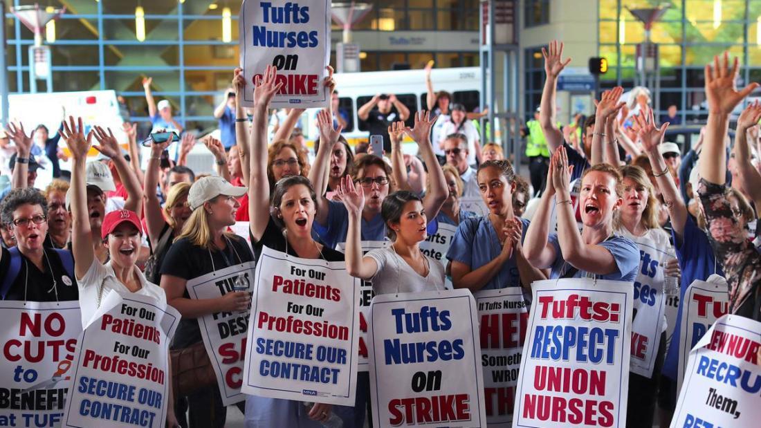 Aug. 2017 Tufts nurses