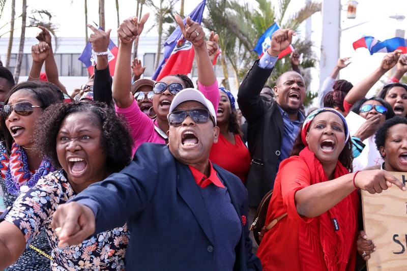 Feb. 2018 Haitians : Trump