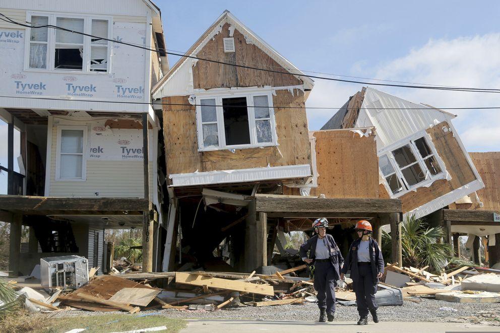 April 2019 Demolish houses (Douglas R. Clifford:AP)