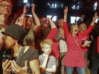 Photo: Steve Eason  Celebrations at  #TWT of Jeremy's election victory