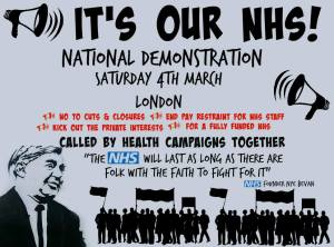 Demonstrate for our NHS @ Central London