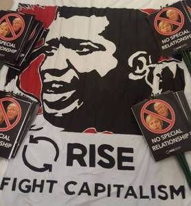 Rise (Respect internationalism socialism environmentalism ) conference @ Strathclyde Student Union, | Glasgow | Scotland | United Kingdom