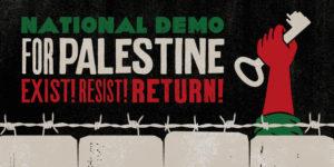 National Demonstration for Palestine @ Portland Place