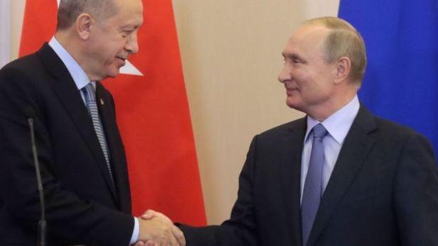 Oct. 2019 Erdogan & Putin (AFP)