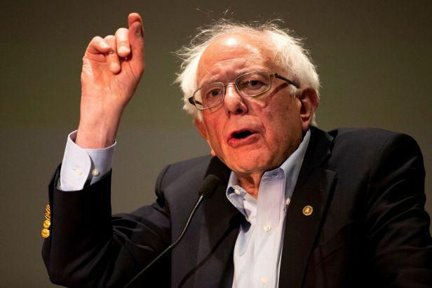 Oct. 2019 Sanders to nurses (Christopher Dolan:AP)