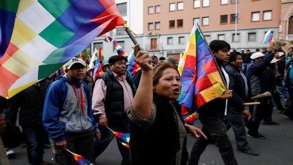 Nov. 2019 Bolivia march