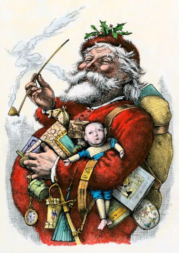 Merry-Old-Santa-Claus-Thomas-Nast