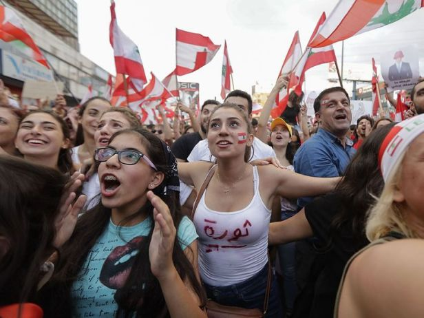 Feb. 2020 Lebanon Oct. 2019 (AFP)