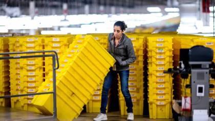 April 2020 Amaz worker (AFP:Getty)
