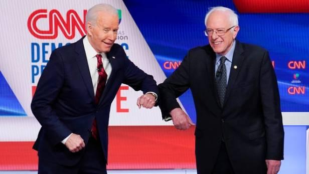 April 2020 Sanders & Biden