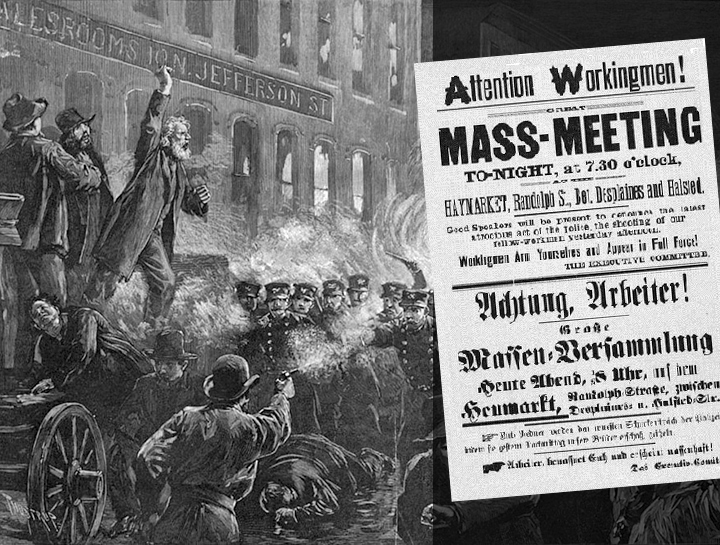 Image result for may day haymarket