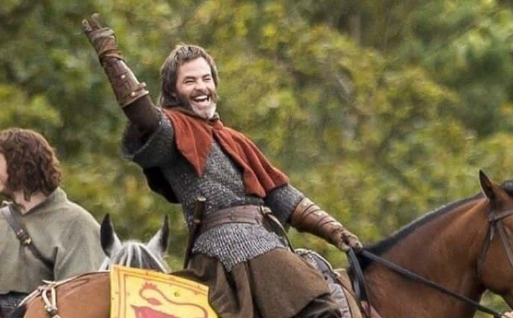 Chris Pine Outlaw King