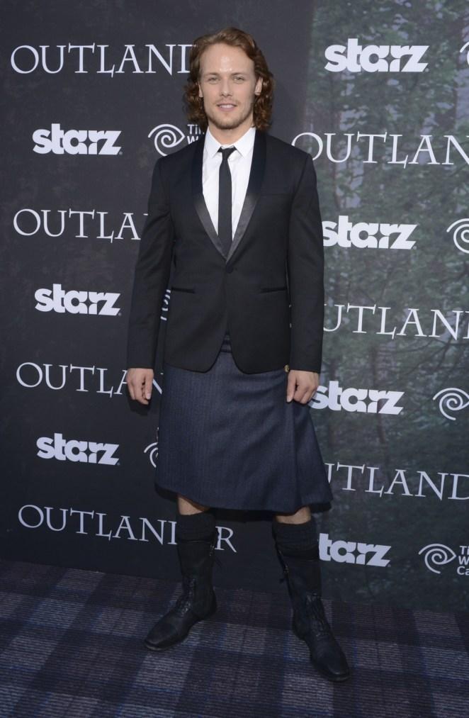 "Sam Heughan Starz Series ""Outlander"" Premiere - Comic-Con International 2014"