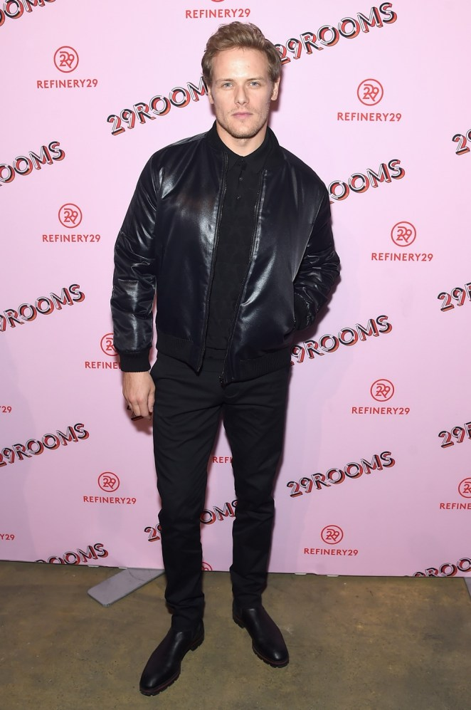 Sam Heughan Refinery29 Third Annual 29Rooms: Turn It Into Art