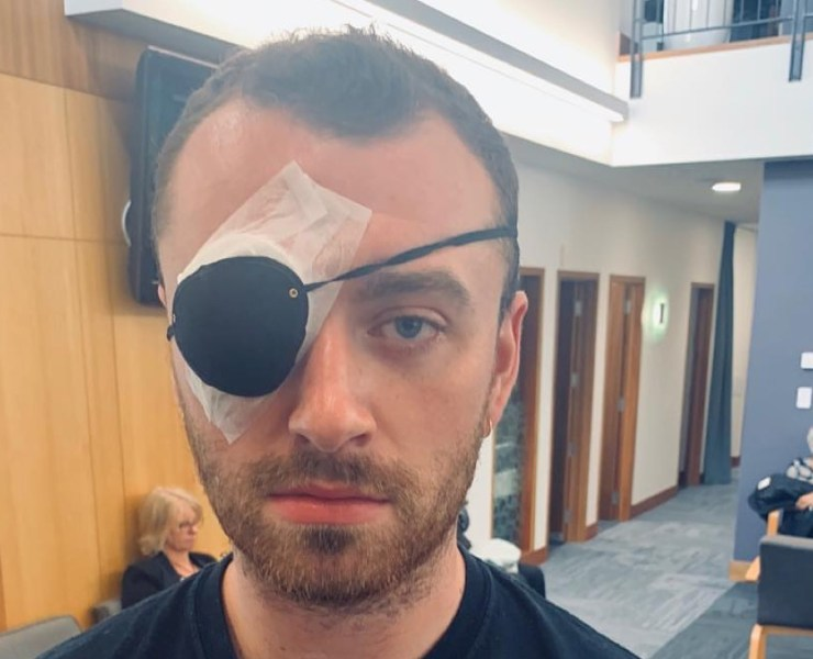 Sam Smith eye patch