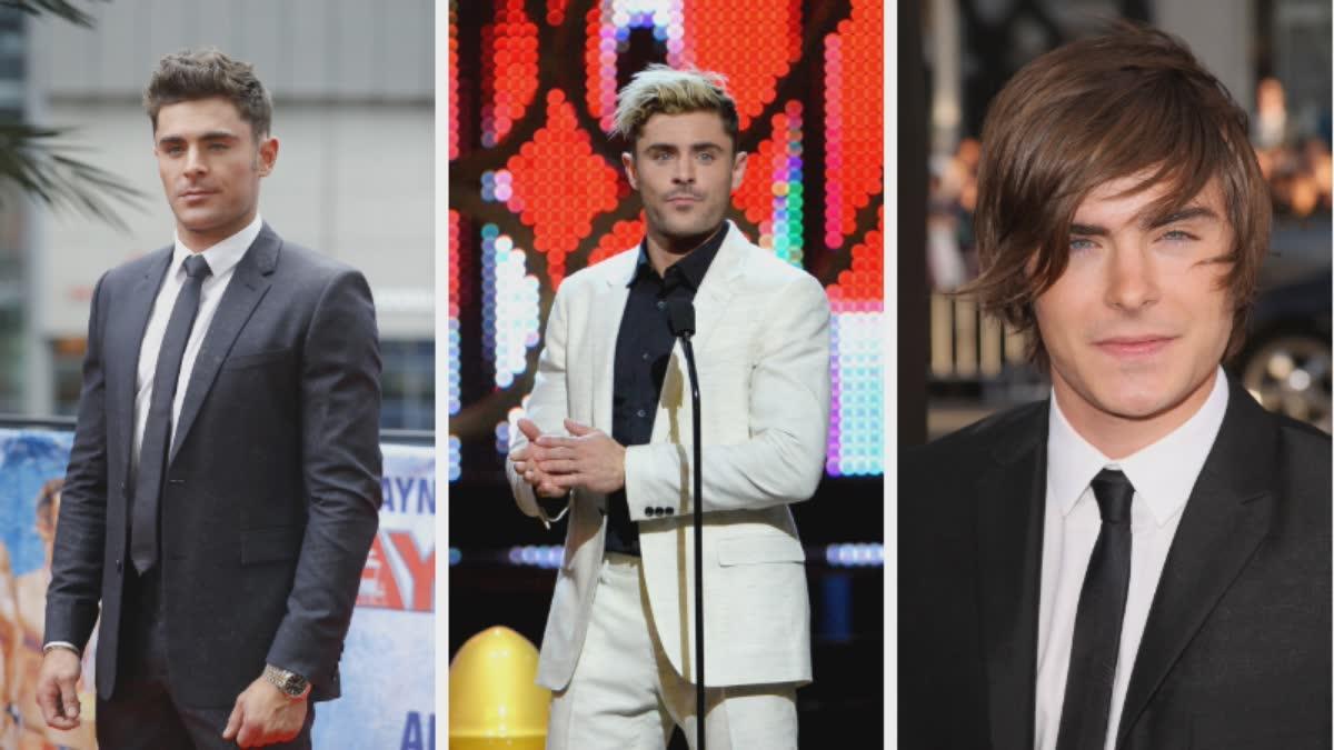 Zac Efron's Hairvolution