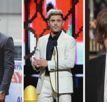 Zac Efron's Hairvolution