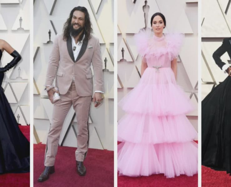 2019 Oscar Best Dressed: Lady Gaga, Jason Momoa, Kacey Musgraves, Billy Porter & More 1