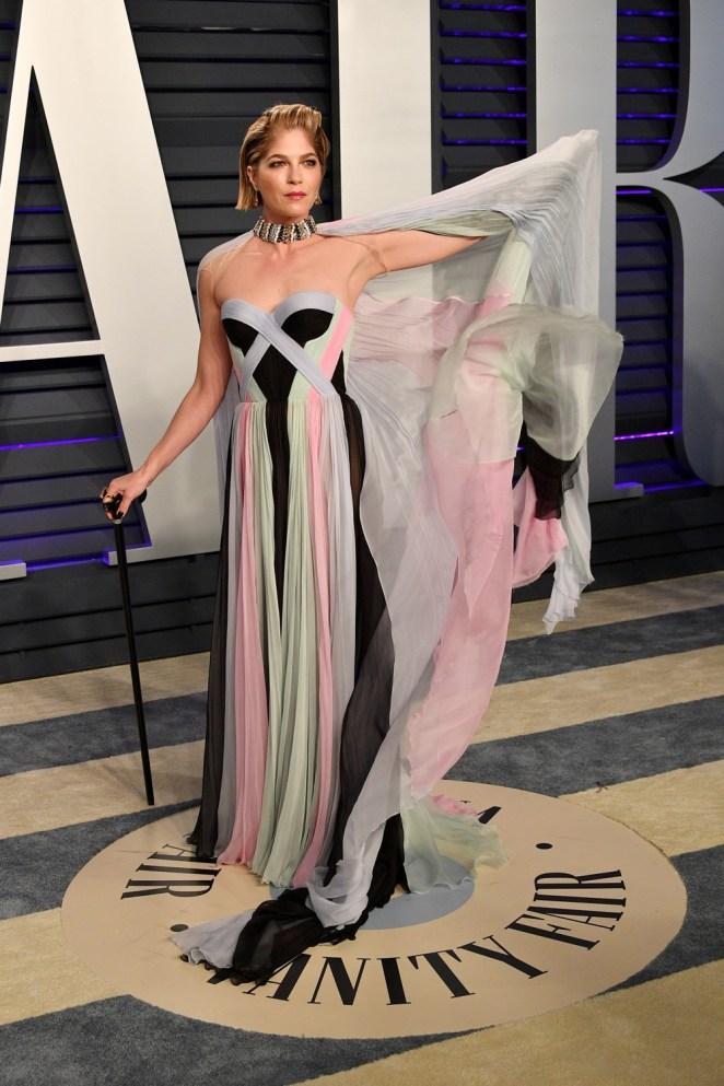 Selma Blair 2019 Vanity Fair Oscar Party Hosted By Radhika Jones - Arrivals