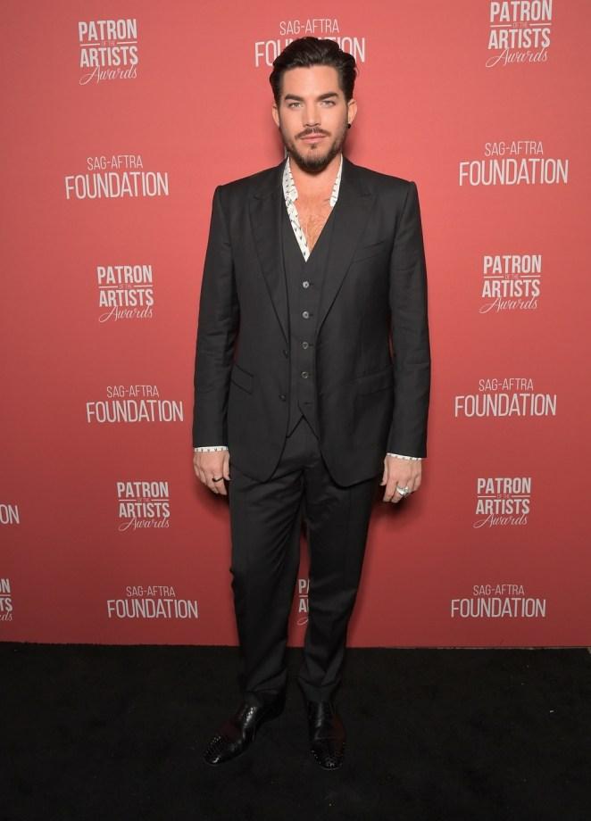 Adam Lambert SAG-AFTRA Foundation's 3rd Annual Patron of the Artists Awards
