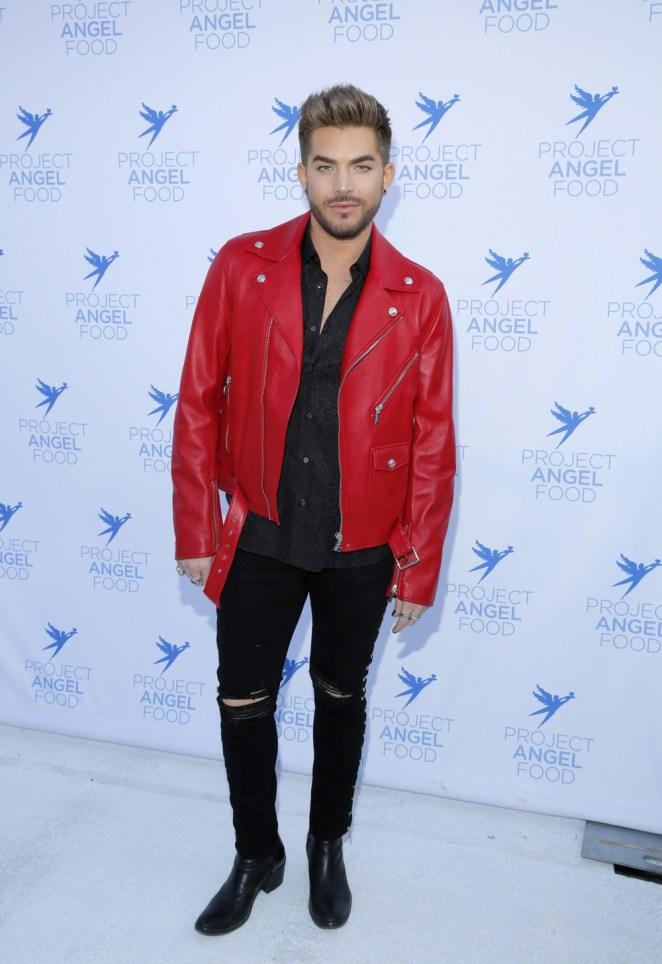 Adam Lambert Project Angel Food's 2017 Angel Awards