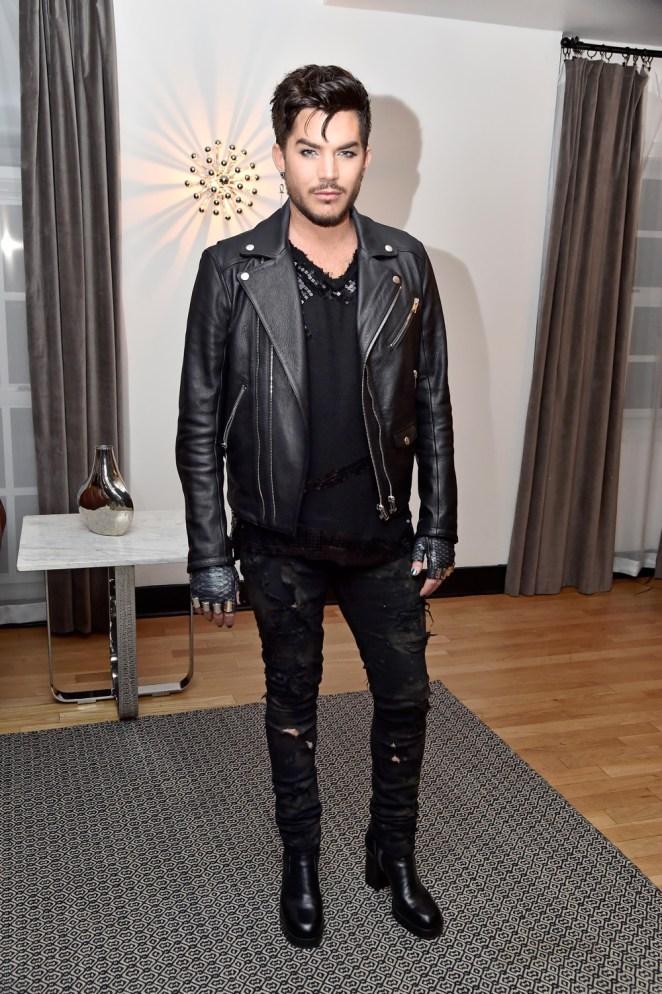 Adam Lambert Wolk Morais Collection 6 Fashion Show