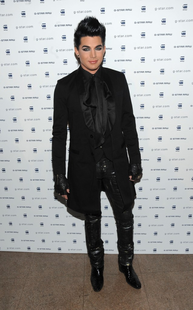 Adam Lambert G-Star Raw Presents NY Raw Fall/Winter 2010 Collection- Backstage/Cocktail