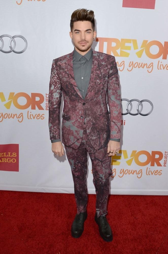 "Adam Lambert ""TrevorLIVE LA"" Honoring Jane Lynch And Toyota For The Trevor Project - Red Carpet"