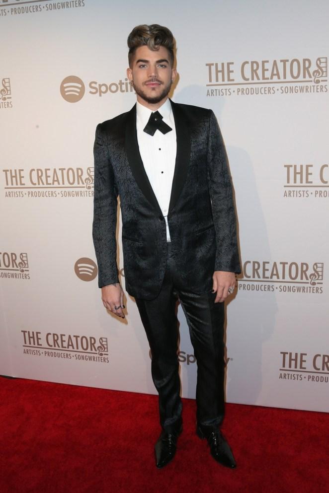 Adam Lambert The Creators Party Presented By Spotify, Cicada, Los Angeles - Arrivals