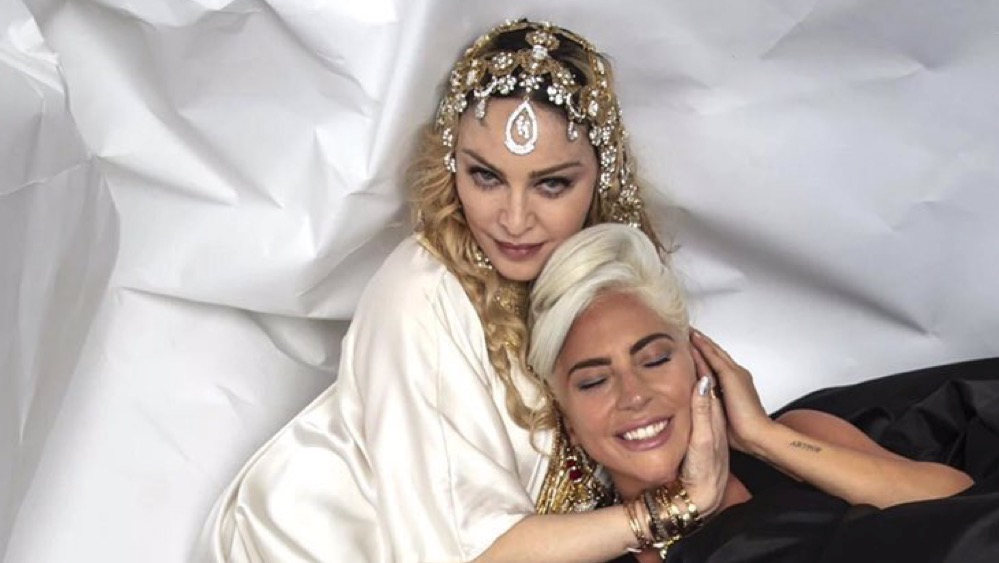 Madonna and Lady Gaga Oscar After Party