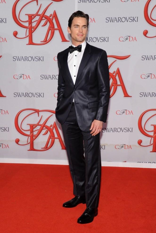 Matt Bomer 2012 CFDA Fashion Awards - Arrivals