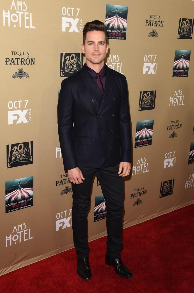 "Matt Bomer Premiere Screening Of FX's ""American Horror Story: Hotel"" - Arrivals"