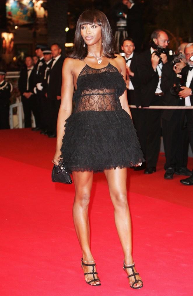 Naomi Campbell Cannes - 'Une Vieille Maitresse' - Premiere