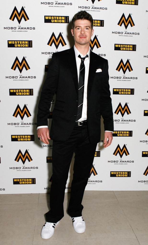Robin Thicke MOBO Awards 2007 - Arrivals