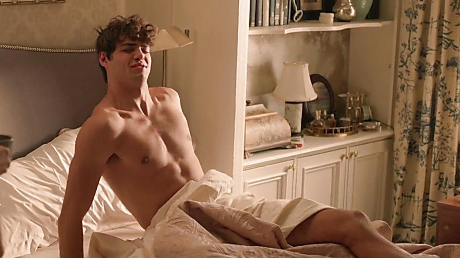 Noah Centineo Shirtless