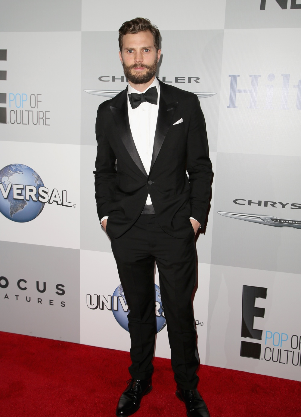 Jamie Dornan NBCUniversal Golden Globe Awards Party Sponsored By Chrysler