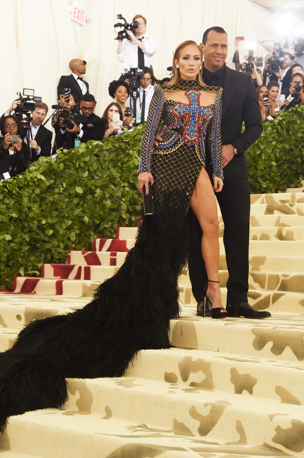Jennifer Lopez and Alex Rodriguez Heavenly Bodies: Fashion & The Catholic Imagination Costume Institute Gala - Arrivals