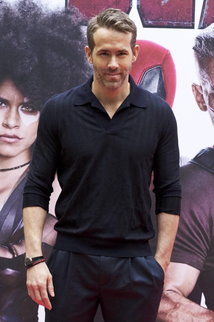 Ryan Reynolds 'Deadpool 2' Madrid Photocall