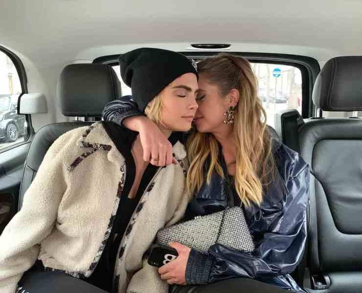 Cara Delevingne and Ashley Benson