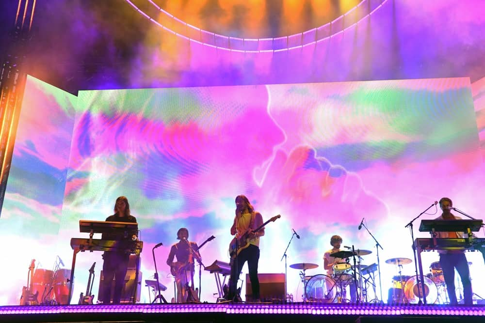 Tame Impala 2019 Coachella Valley Music And Arts Festival - Weekend 1 - Day 2