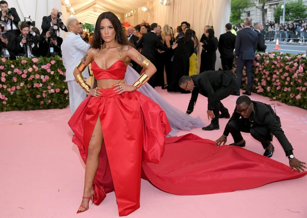 Halsey The 2019 Met Gala Celebrating Camp: Notes on Fashion - Arrivals