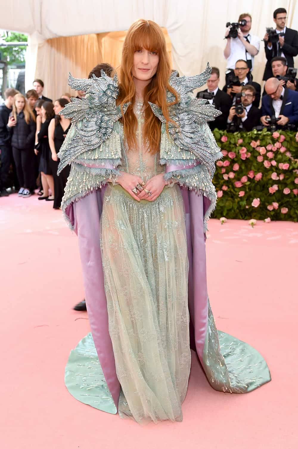 Florence Welch The 2019 Met Gala Celebrating Camp: Notes on Fashion - Arrivals